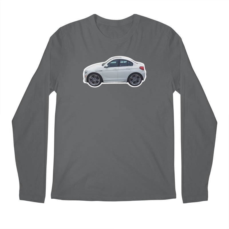 Mini BMW 6 Series Men's Longsleeve T-Shirt by Pixel Panzers's Merch Emporium