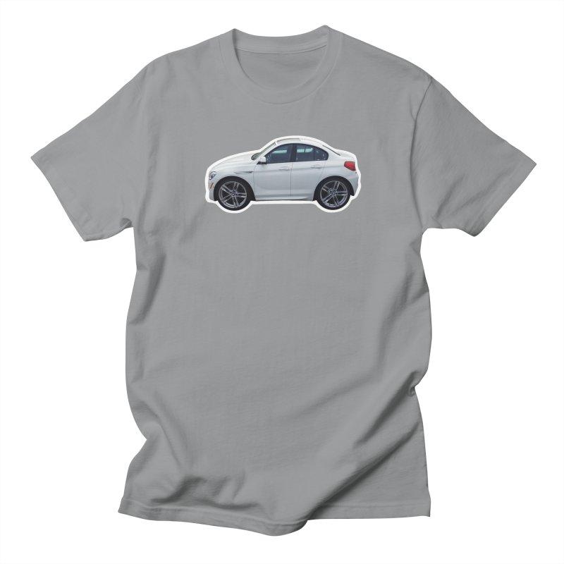 Mini BMW 6 Series Men's T-Shirt by Pixel Panzers's Merch Emporium