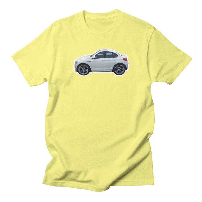 Mini BMW 6 Series Men's T-Shirt by Pixel Panzers's Merch Emporium