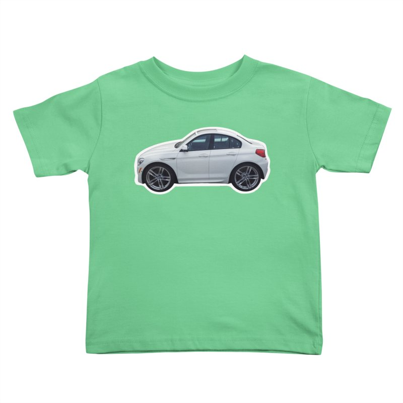 Mini BMW 6 Series Kids Toddler T-Shirt by Pixel Panzers's Merch Emporium