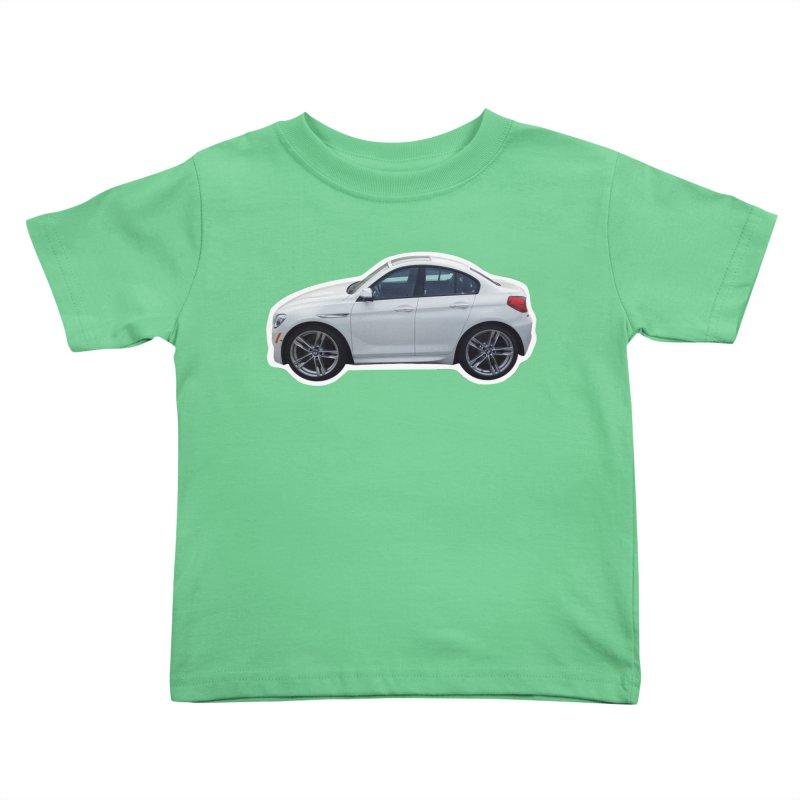 Mini BMW 6 Series Kids Toddler T-Shirt by Pixel Panzers's Merch Emporium