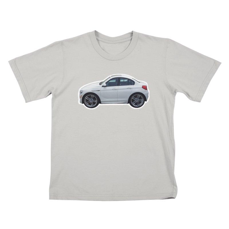 Mini BMW 6 Series Kids T-Shirt by Pixel Panzers's Merch Emporium