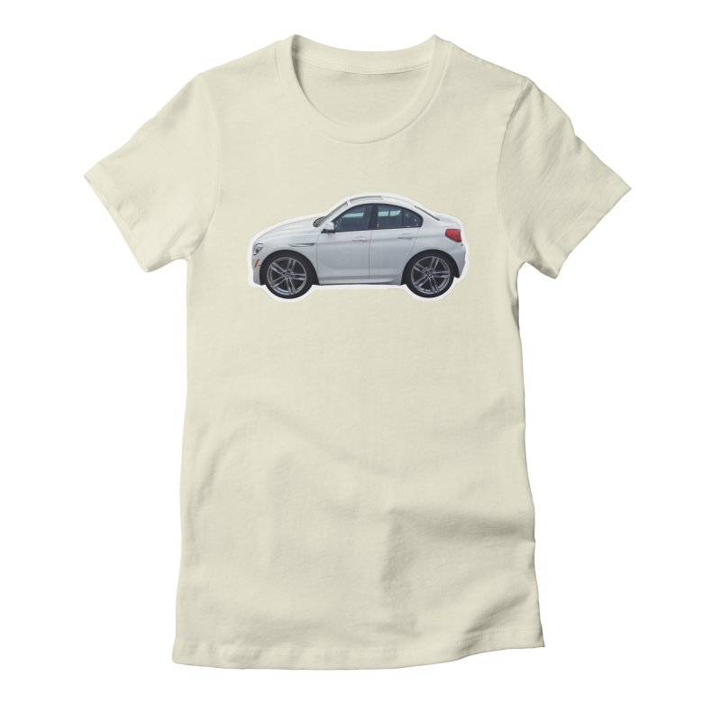 Mini BMW 6 Series Women's Fitted T-Shirt by Pixel Panzers's Merch Emporium