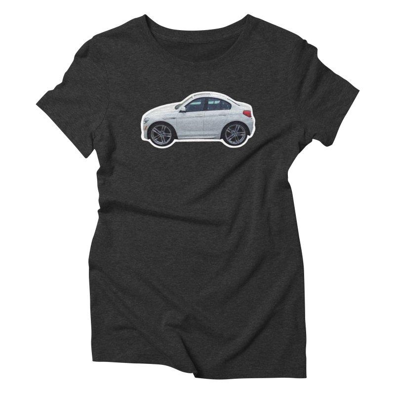 Mini BMW 6 Series Women's Triblend T-Shirt by Pixel Panzers's Merch Emporium