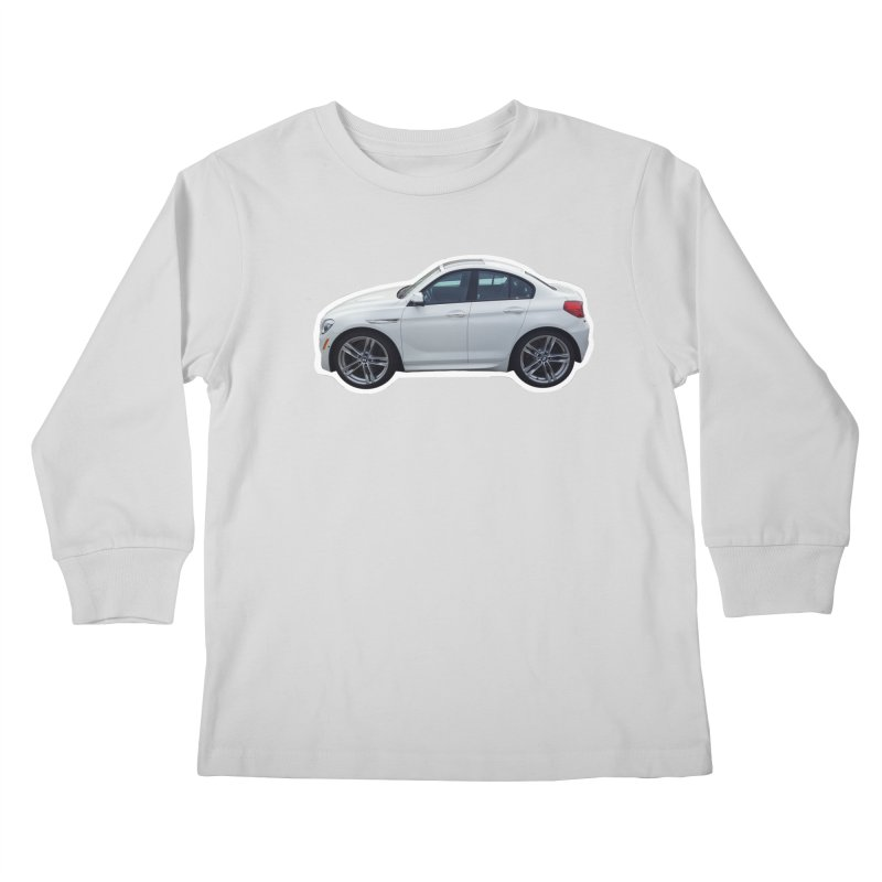 Mini BMW 6 Series Kids Longsleeve T-Shirt by Pixel Panzers's Merch Emporium