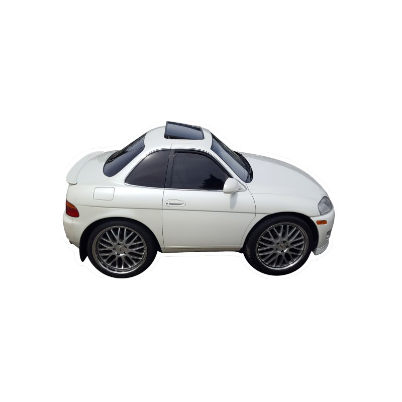 Mini Toyota Soarer None  by Pixel Panzers's Merch Emporium