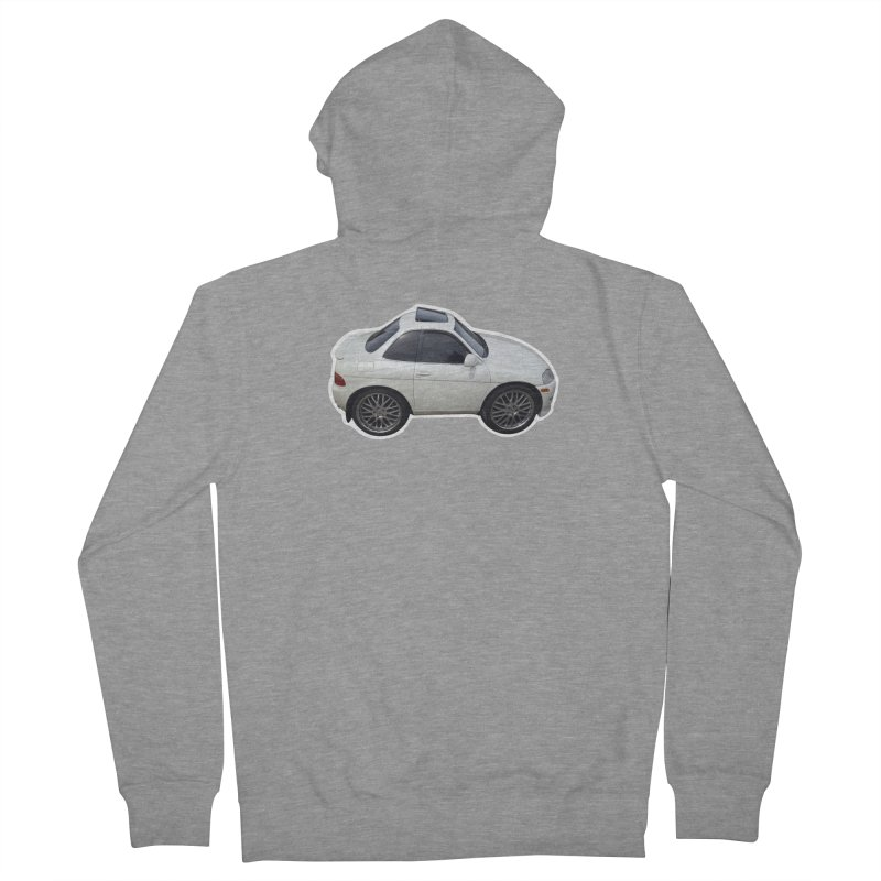 Mini Toyota Soarer Women's Zip-Up Hoody by Pixel Panzers's Merch Emporium