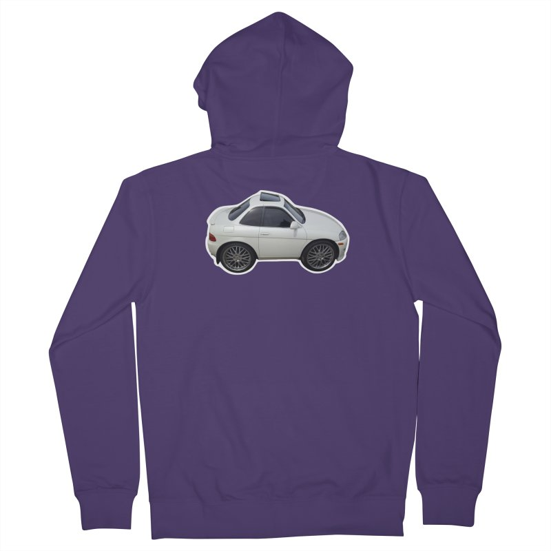 Mini Toyota Soarer Women's Zip-Up Hoody by Pixel Panzers's Merch Emporium