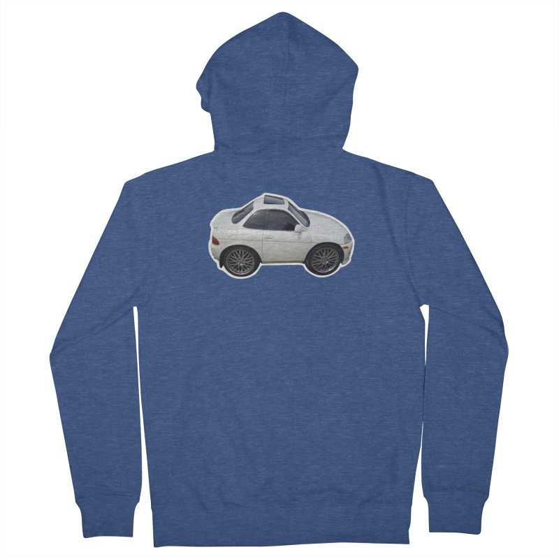 Mini Toyota Soarer Men's Zip-Up Hoody by Pixel Panzers's Merch Emporium