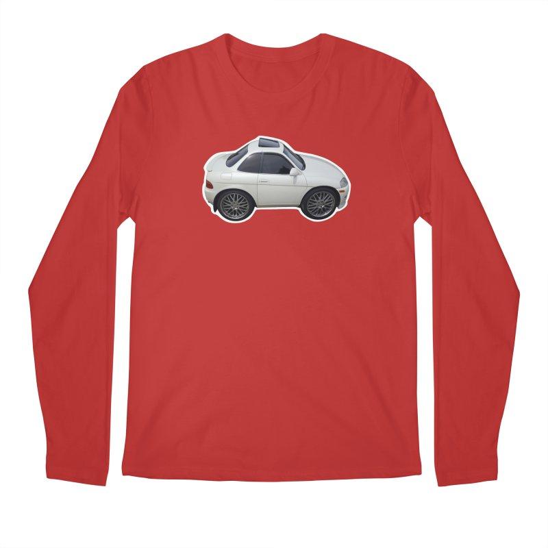 Mini Toyota Soarer Men's Longsleeve T-Shirt by Pixel Panzers's Merch Emporium