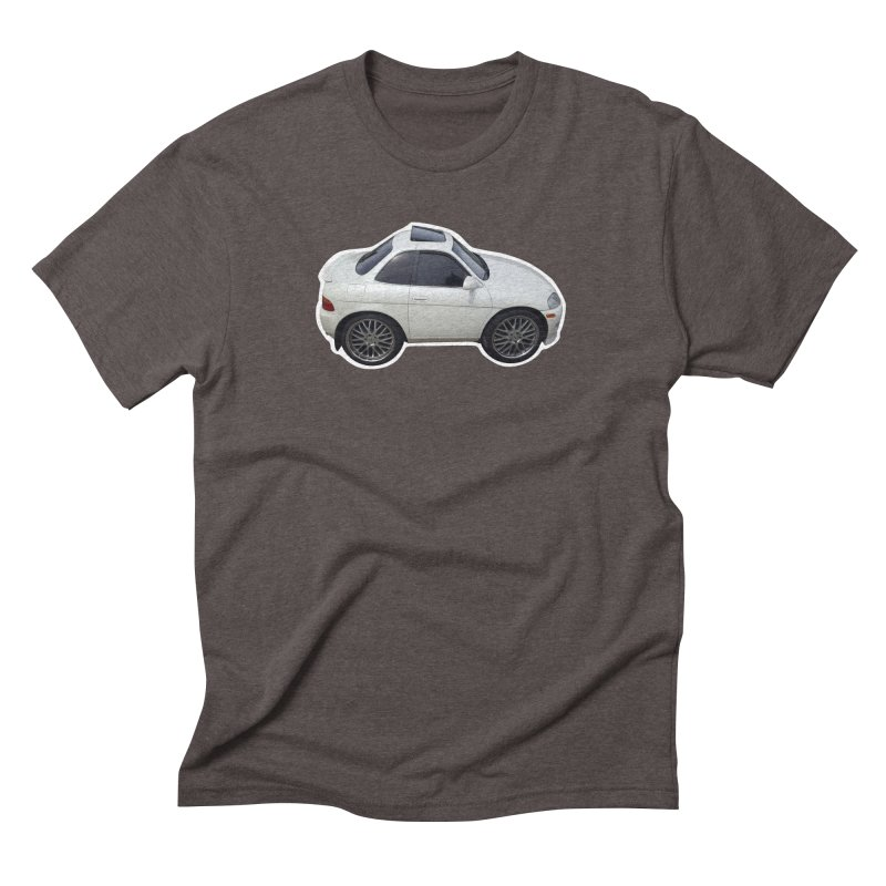 Mini Toyota Soarer Men's Triblend T-Shirt by Pixel Panzers's Merch Emporium