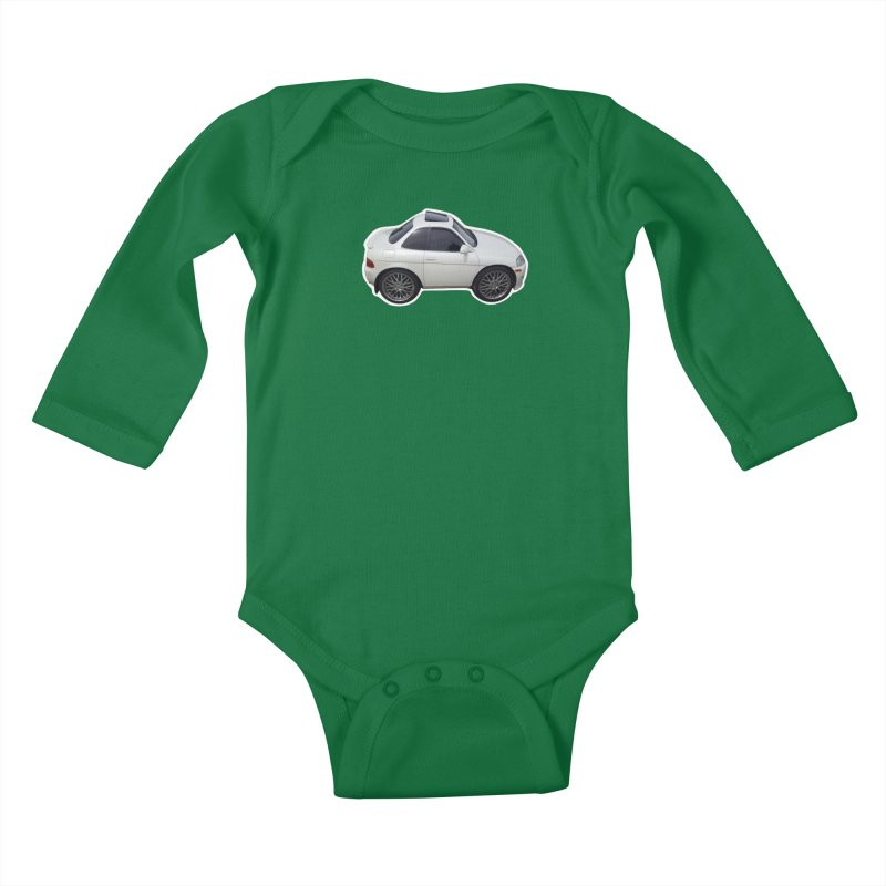 Mini Toyota Soarer Kids Baby Longsleeve Bodysuit by Pixel Panzers's Merch Emporium