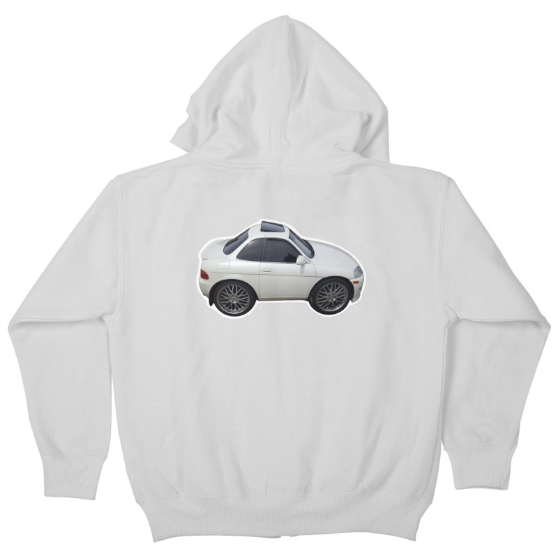 Mini Toyota Soarer Kids Zip-Up Hoody by Pixel Panzers's Merch Emporium
