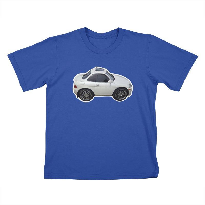 Mini Toyota Soarer Kids T-Shirt by Pixel Panzers's Merch Emporium