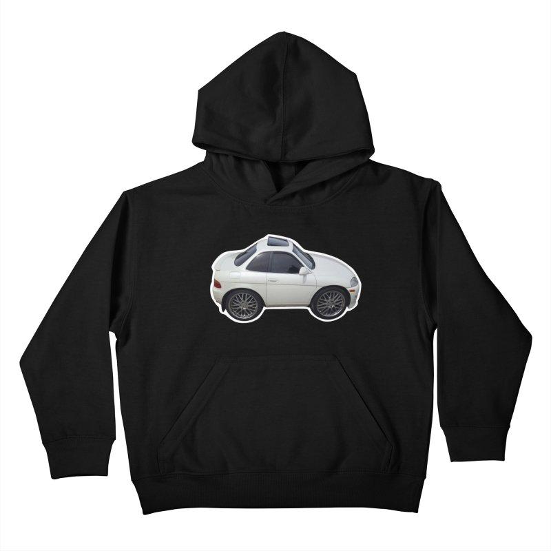 Mini Toyota Soarer Kids Pullover Hoody by Pixel Panzers's Merch Emporium