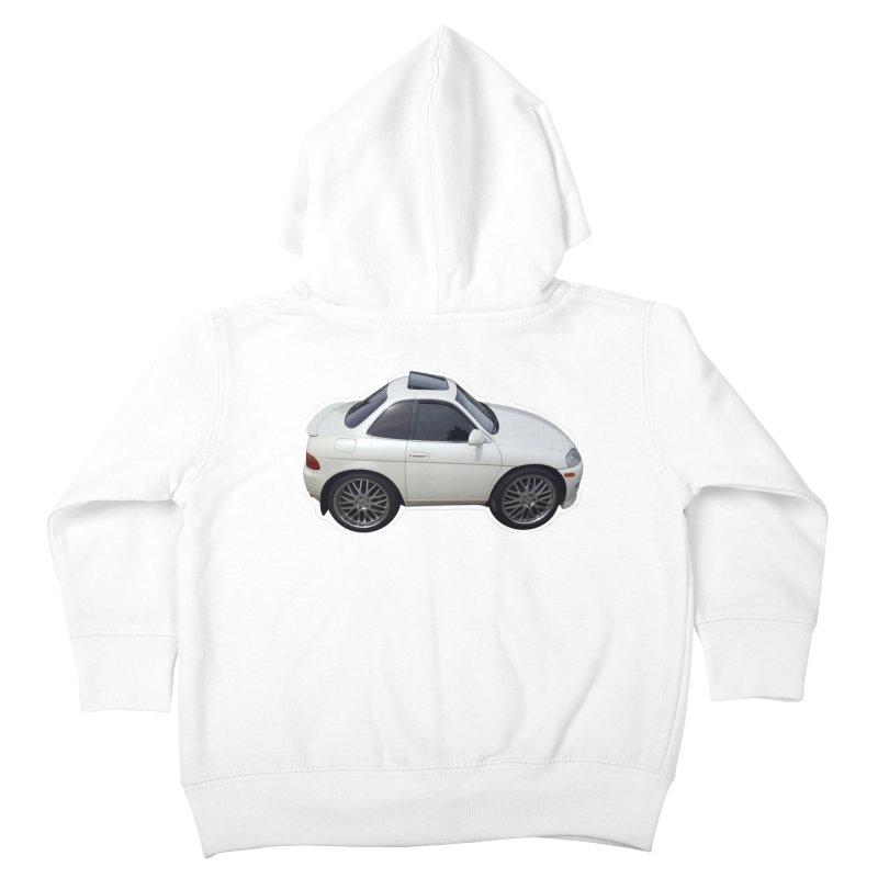 Mini Toyota Soarer Kids Toddler Zip-Up Hoody by Pixel Panzers's Merch Emporium