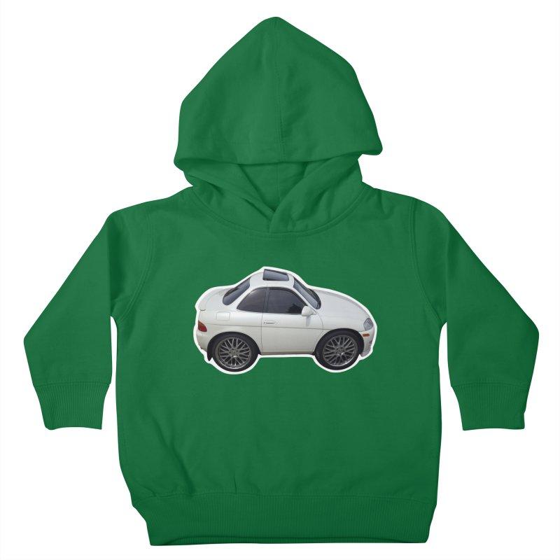 Mini Toyota Soarer Kids Toddler Pullover Hoody by Pixel Panzers's Merch Emporium