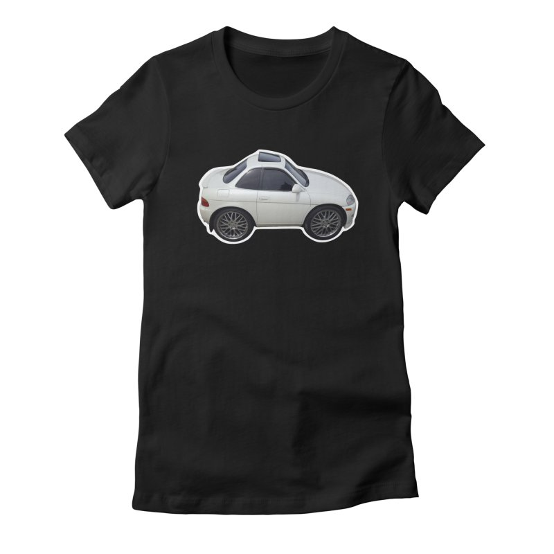 Mini Toyota Soarer Women's Fitted T-Shirt by Pixel Panzers's Merch Emporium