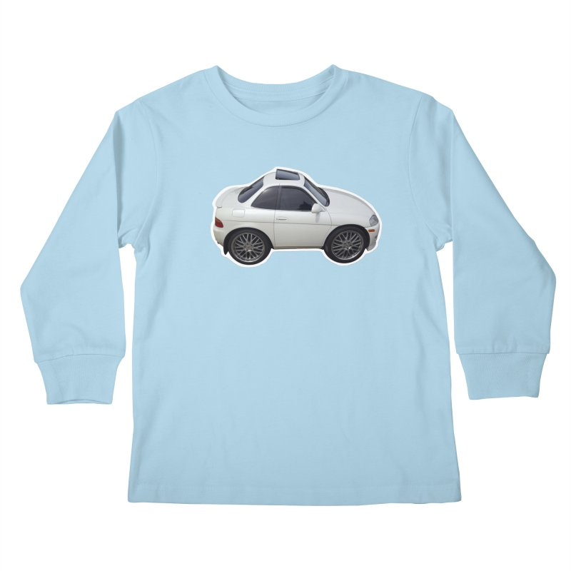 Mini Toyota Soarer Kids Longsleeve T-Shirt by Pixel Panzers's Merch Emporium