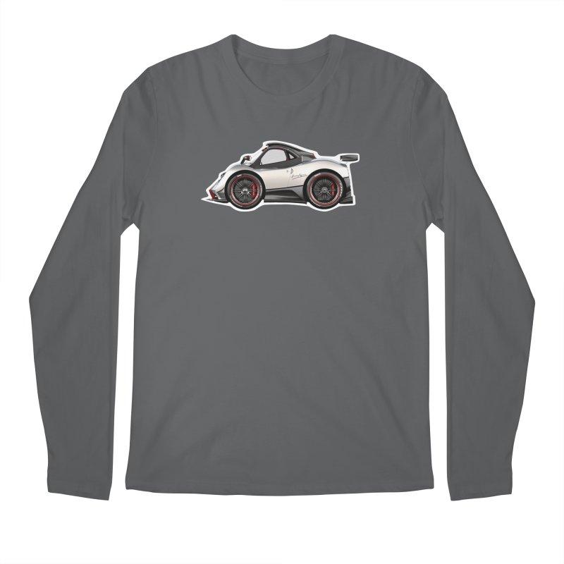 Mini Pagani Zonda Men's Longsleeve T-Shirt by Pixel Panzers's Merch Emporium