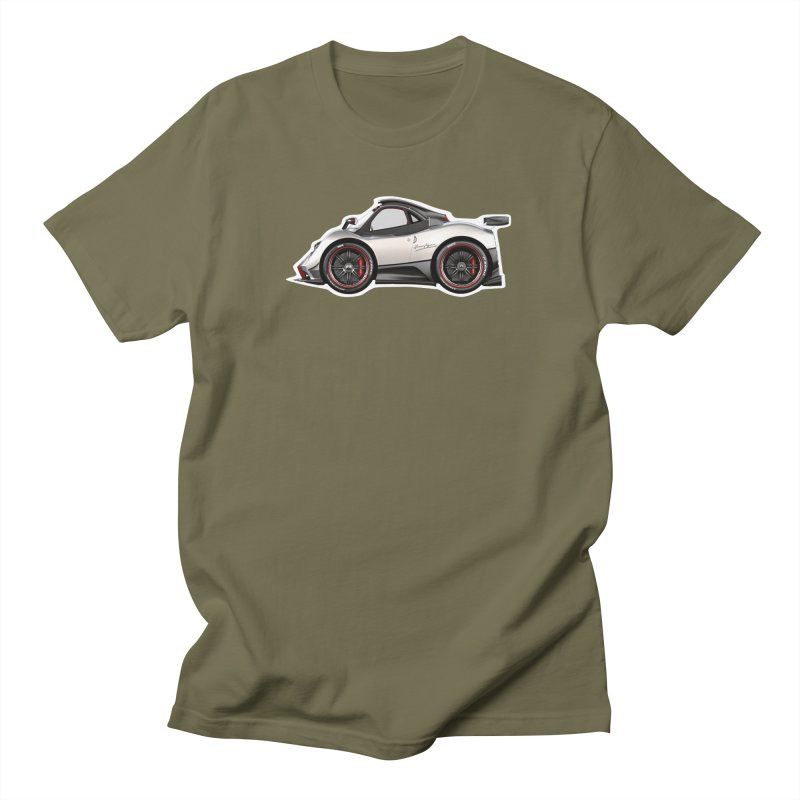 Mini Pagani Zonda Men's T-Shirt by Pixel Panzers's Merch Emporium