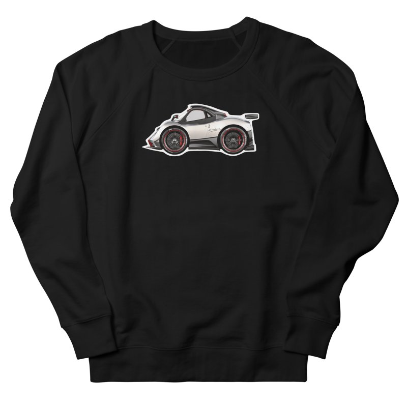 Mini Pagani Zonda Men's Sweatshirt by Pixel Panzers's Merch Emporium