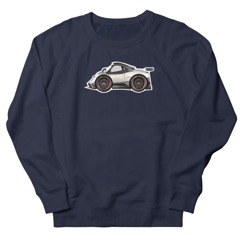 Mini Pagani Zonda Men's Sweatshirt by Pixel Panzers's Merch Emporium