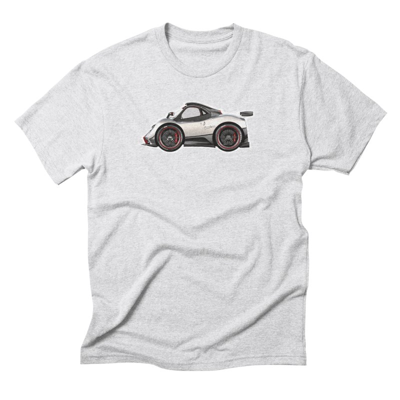 Mini Pagani Zonda Men's Triblend T-Shirt by Pixel Panzers's Merch Emporium