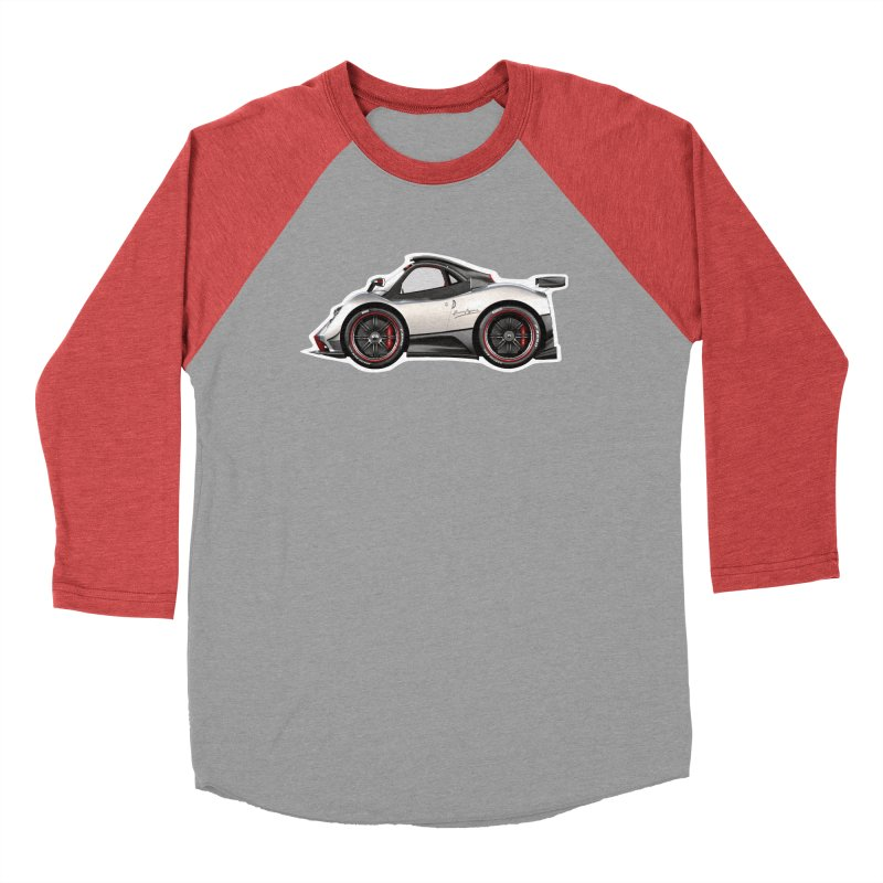 Mini Pagani Zonda Women's Baseball Triblend T-Shirt by Pixel Panzers's Merch Emporium