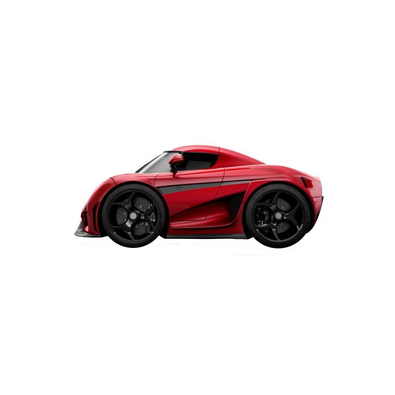 Mini Koenigsegg Regera by Pixel Panzers's Merch Emporium