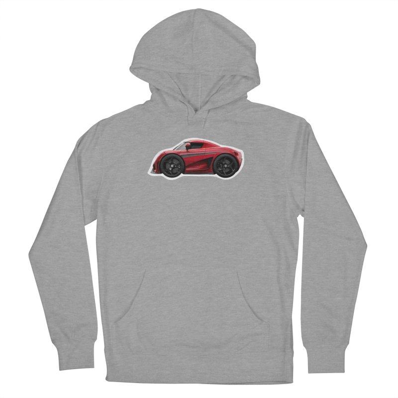 Mini Koenigsegg Regera Men's Pullover Hoody by Pixel Panzers's Merch Emporium