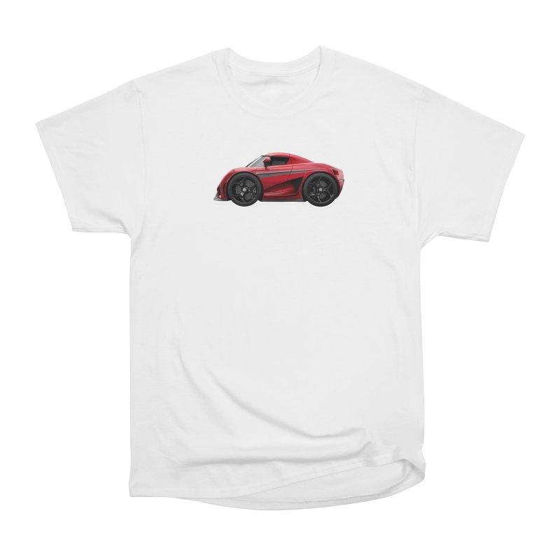 Mini Koenigsegg Regera Women's Classic Unisex T-Shirt by Pixel Panzers's Merch Emporium