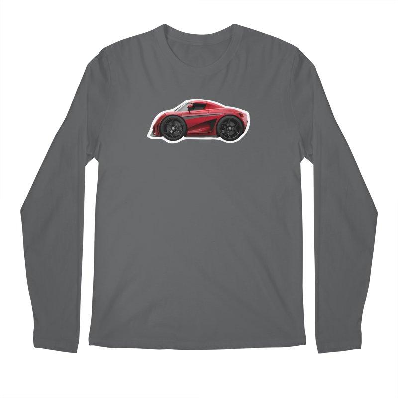 Mini Koenigsegg Regera Men's Longsleeve T-Shirt by Pixel Panzers's Merch Emporium