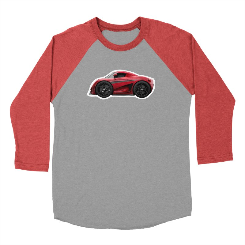Mini Koenigsegg Regera Men's Baseball Triblend T-Shirt by Pixel Panzers's Merch Emporium