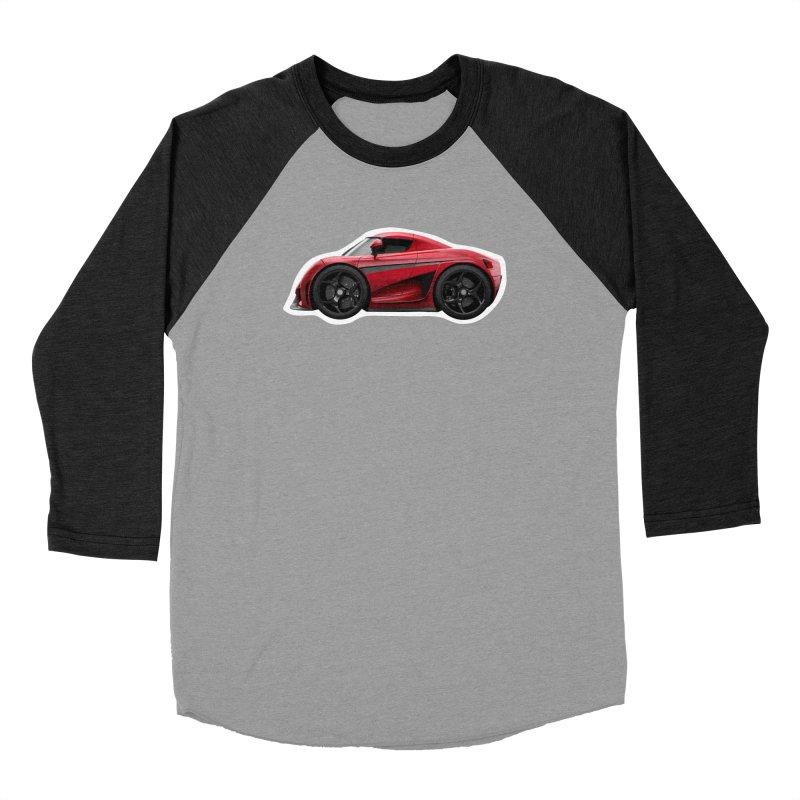 Mini Koenigsegg Regera Men's Baseball Triblend T-Shirt by Pixel Panzers's Merch Emporium
