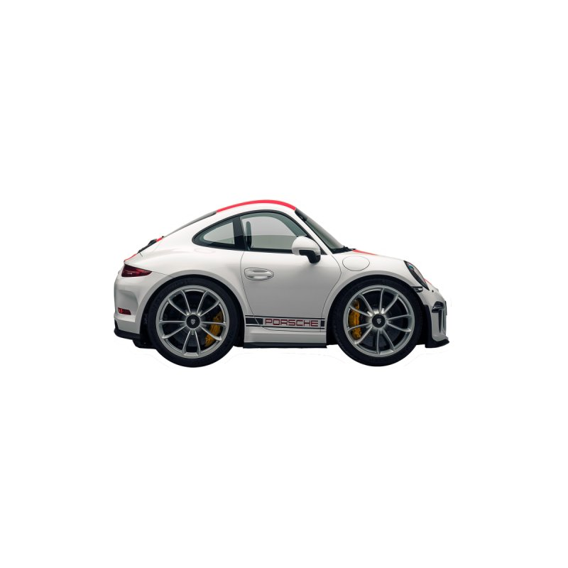 Mini Porsche 911 991r by Pixel Panzers's Merch Emporium