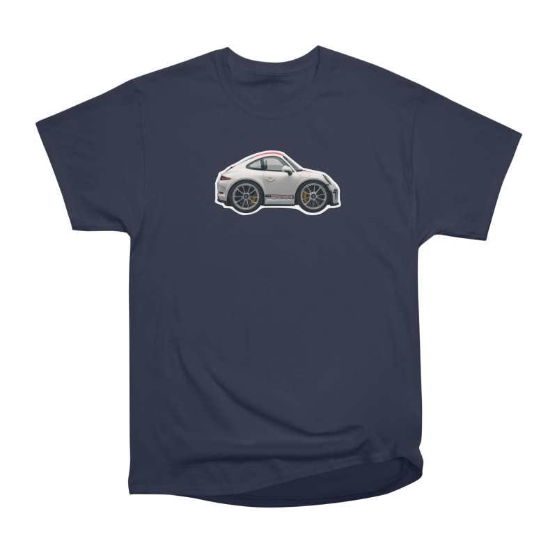 Mini Porsche 911 991r Women's Classic Unisex T-Shirt by Pixel Panzers's Merch Emporium