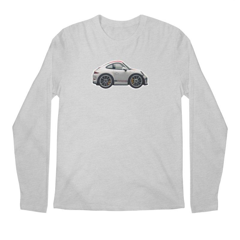 Mini Porsche 911 991r Men's Longsleeve T-Shirt by Pixel Panzers's Merch Emporium