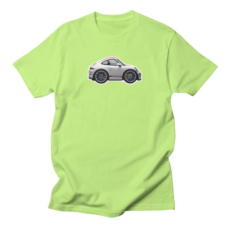Mini Porsche 911 991r Men's T-Shirt by Pixel Panzers's Merch Emporium