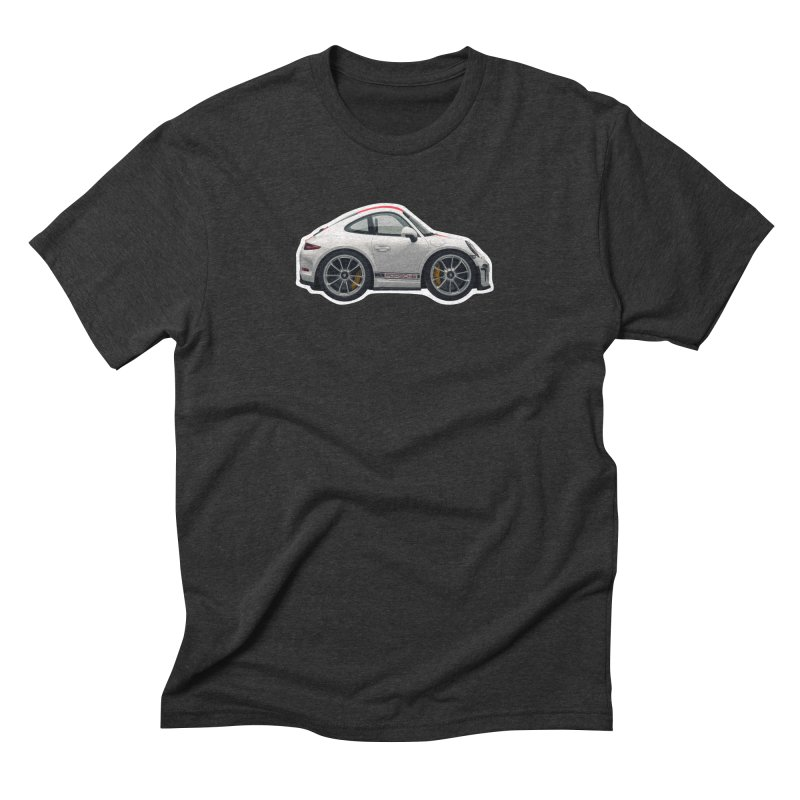 Mini Porsche 911 991r Men's Triblend T-Shirt by Pixel Panzers's Merch Emporium