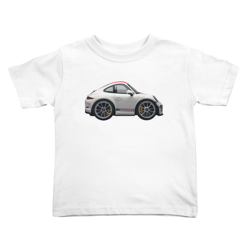 Mini Porsche 911 991r Kids Toddler T-Shirt by Pixel Panzers's Merch Emporium