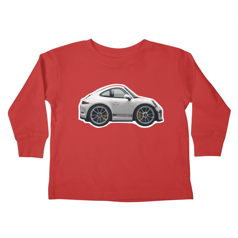 Mini Porsche 911 991r Kids Toddler Longsleeve T-Shirt by Pixel Panzers's Merch Emporium