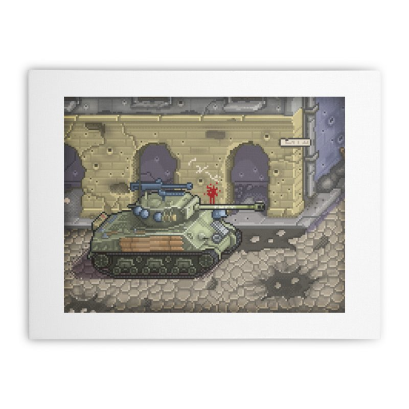 Fury M4 - From the Fury Movie (M4AE38) Home Stretched Canvas by Pixel Panzers's Merch Emporium