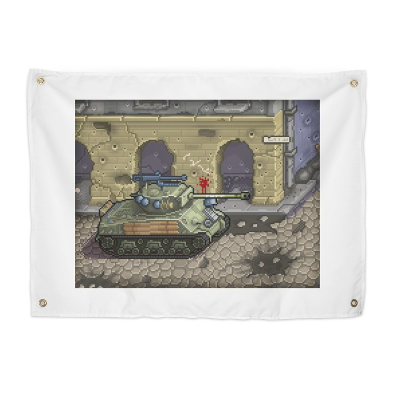 Fury M4 - From the Fury Movie (M4AE38) Home Tapestry by Pixel Panzers's Merch Emporium