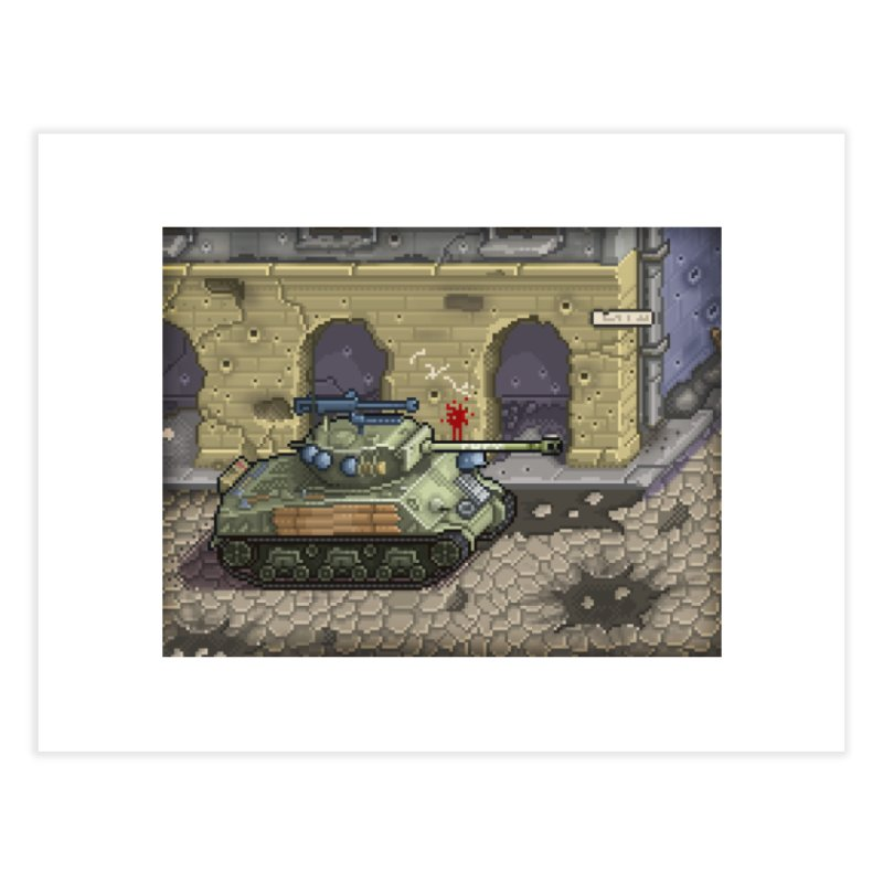 Fury M4 - From the Fury Movie (M4AE38) Home Fine Art Print by Pixel Panzers's Merch Emporium