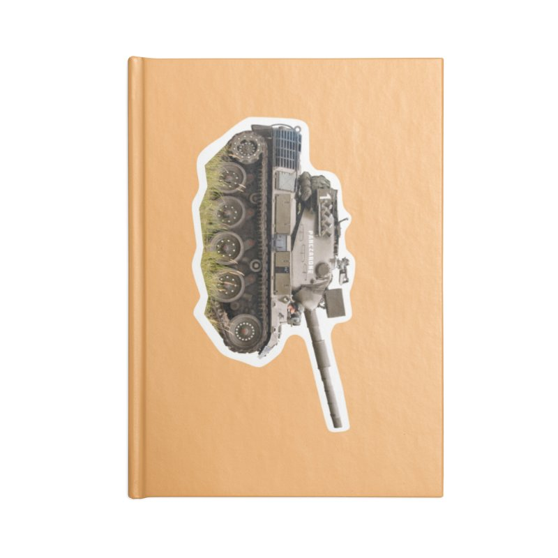 Mini Leopard I Main Battle Tank Accessories Notebook by Pixel Panzers's Merchandise