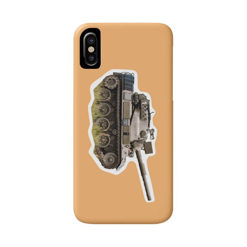 Mini Leopard I Main Battle Tank Accessories Phone Case by Pixel Panzers's Merchandise