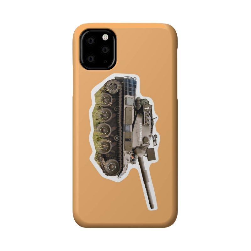 Mini Leopard I Main Battle Tank Accessories Phone Case by Pixel Panzers's Merchandise