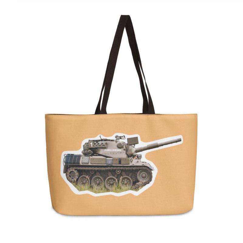 Mini Leopard I Main Battle Tank Accessories Weekender Bag Bag by Pixel Panzers's Merchandise