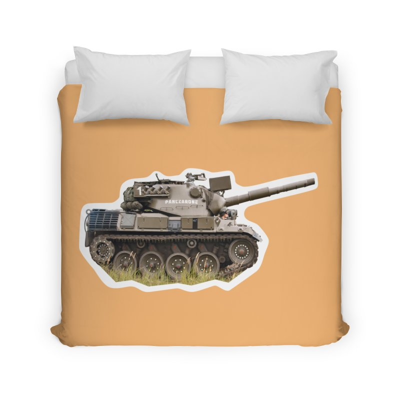 Mini Leopard I Main Battle Tank Home Duvet by Pixel Panzers's Merchandise